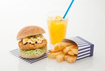 Korokke Burger OASIS ロゴ画像